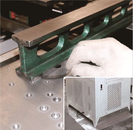 HF Vertically Lifting Jointing Machine For Wooden Board (Crawler Type)-5