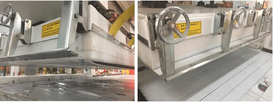 HF Vertically Lifting Jointing Machine For Wooden Board (Crawler Type)-12
