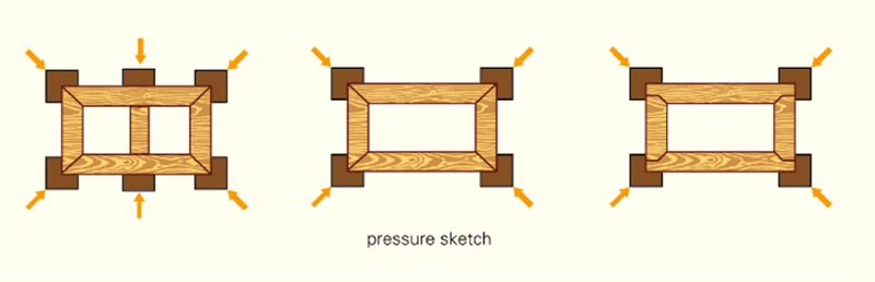 HF wooden frame assembling machine-1