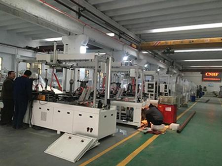 HF wooden frame assembling machine-14