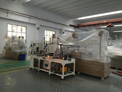 HF wooden frame assembling machine-15