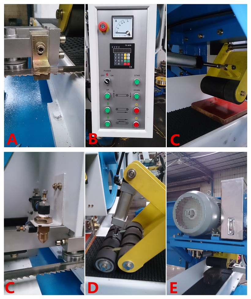 grooving horizontal bandsaw for sale customized-1