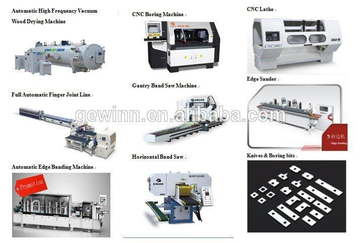 Gewinn high-quality woodworking machinery supplier easy-operation for cutting
