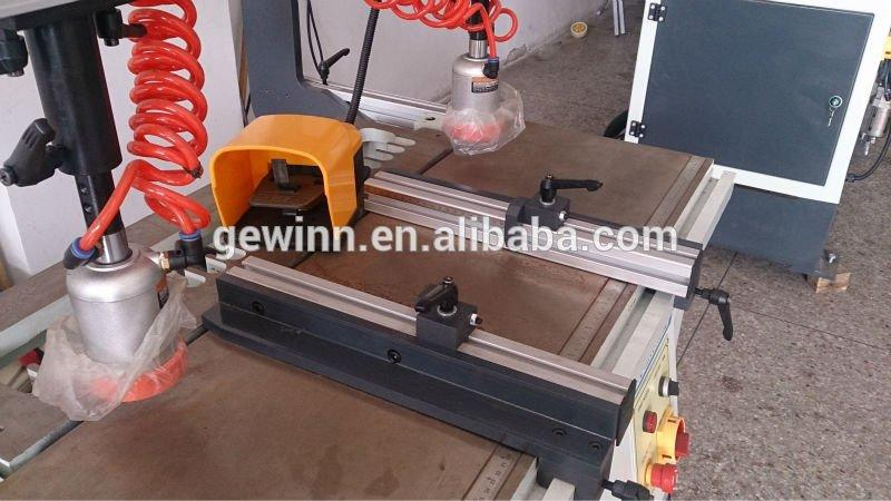 three big edge woodworking equipment holes Gewinn Brand