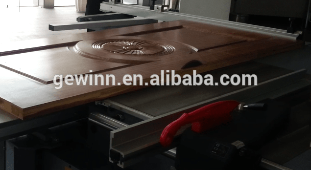 Easy cutting precise table panel saw for MDF SW-400C-2