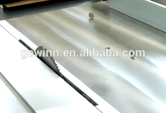Easy cutting precise table panel saw for MDF SW-400C-3