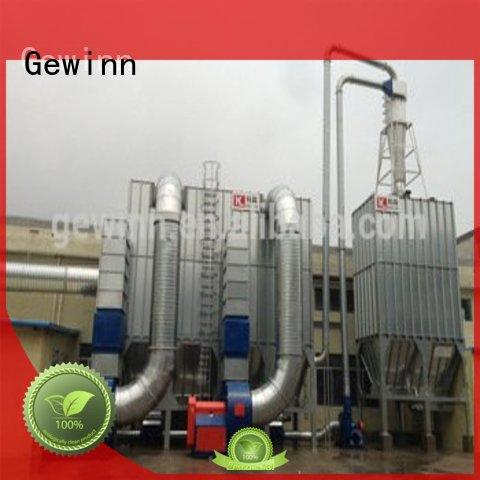 central cyclone dust collector