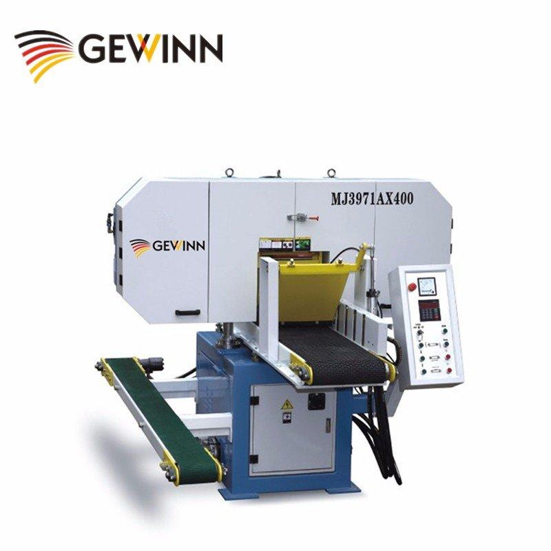 High Efficient Horizontal Bandsaw Sawmill