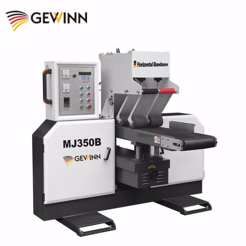 Fast cutting horizontal band saw MJ350B