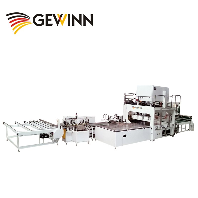 Gewinn Automatic HF Board Jointing (Furniture Panel) Production Line High Frequency press image18