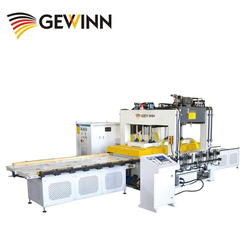 Gewinn HF Wooden Board Jointing Machine With Double Workbench High Frequency press image15