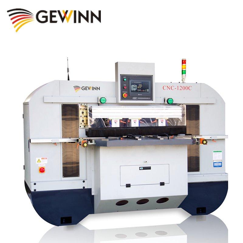 Gewinn Woodworking CNC tenoning machine/ CNC tenoner 1200C CNC tenoning & mortising machine image21