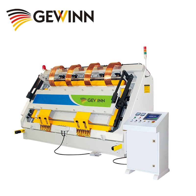 Gewinn HF wooden board and frame assembling machine High Frequency press image12