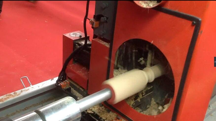 Furniture leg manufacturing Automatic CNC lathe GE-2091-2