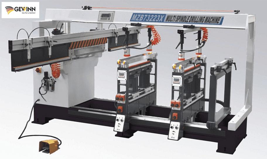 china auto line boring machine/woodworking boring machine MZB73223X