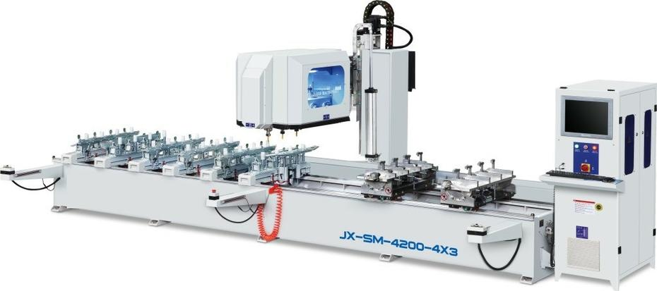 CNC Tenon Machining Center --- JX-SM-4200-4*3
