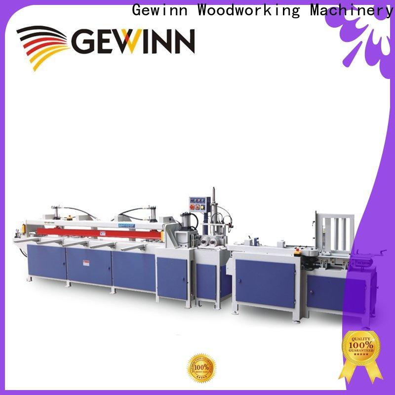 semiautomatic finger joint cutter high-performance for wooden board