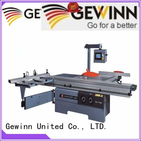 Gewinn at discount sliding table saw for sale moulder for cnc working