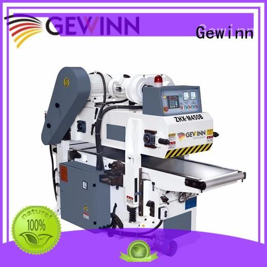 Gewinn fast delivery double sided wood planer double sided
