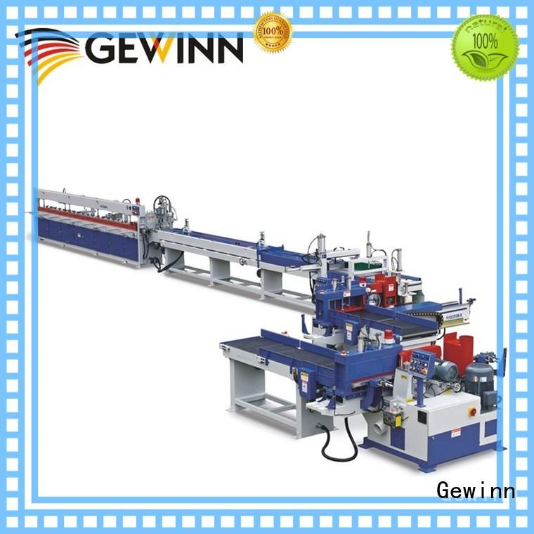 Gewinn motor driven finger joint machine for sale carrier for wood