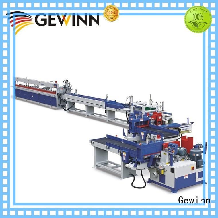 Gewinn motor driven finger joint machine for sale carrier for wood