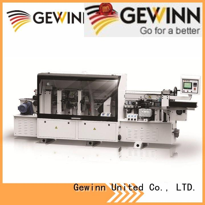 Gewinn automatic wood edge banding machines making machine furniture