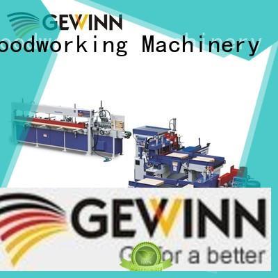 Gewinn semiautomatic finger joint machine carrier for carpentry