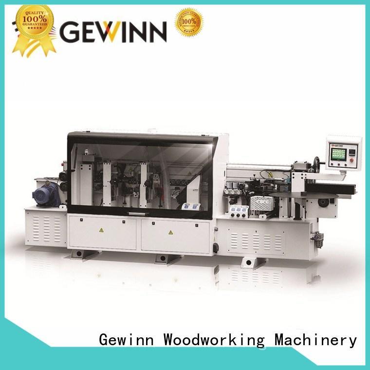Gewinn full function wood edge band machines automatic wood