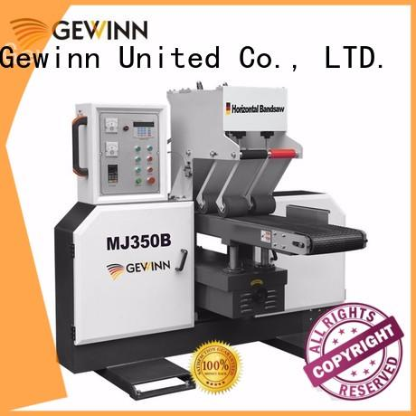 double ended horizontal bandsaw high-performance for woodworking