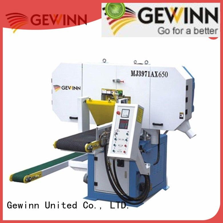 Gewinn 360 degree horizontal bandsaw tenon for cnc tenoning