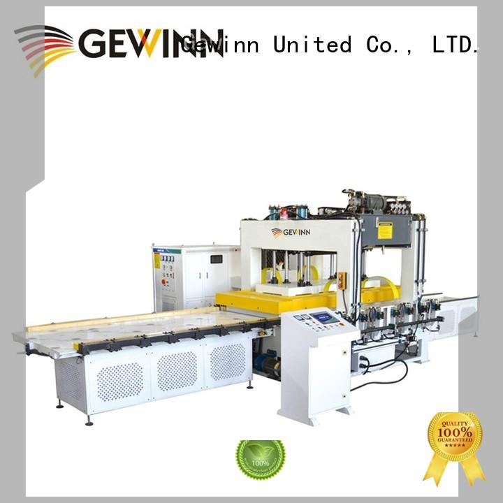 HF Wooden Board Jointing Machine With Double Workbench