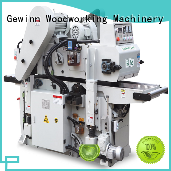 Gewinn automatic double sided planer for sale customization