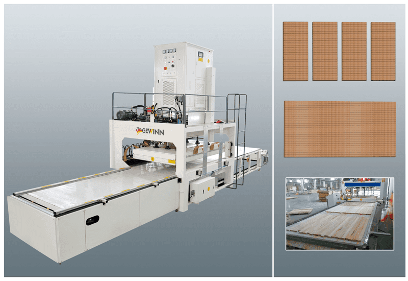 HF Vertically Lifting Jointing Machine For Wooden Board (Crawler Type)-1