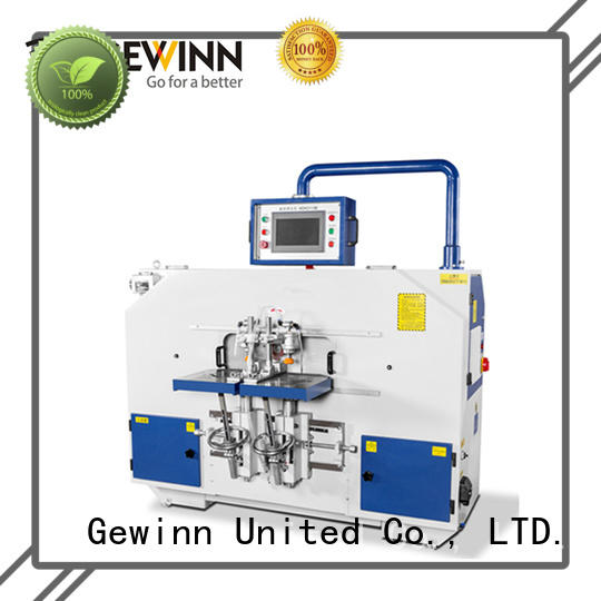 Gewinn double ended mortise and tenon machine machine for woodworking