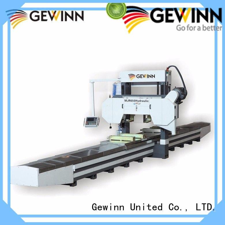Gewinn woodworking equipment easy-operation for bulk production