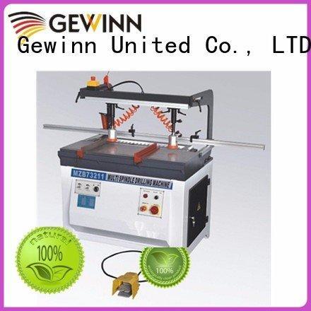 Quality wood boring machinery factory Gewinn Brand line boring machine single  chinese  line