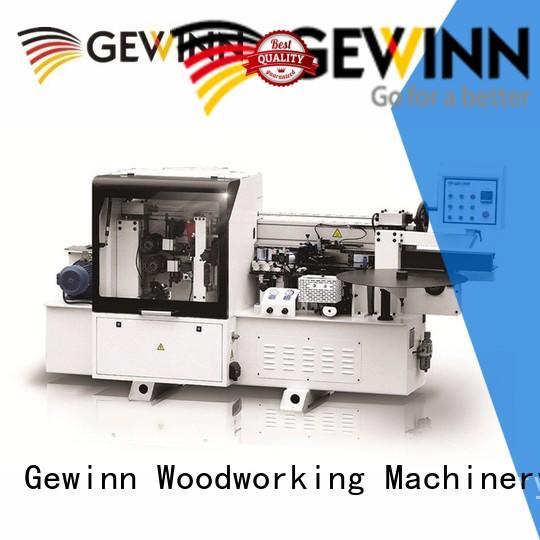Gewinn furniture wood edge banding equipment making wood