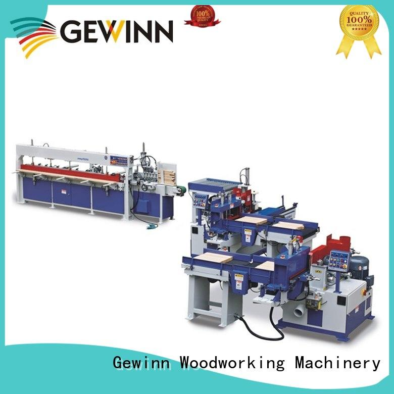 Gewinn automatic finger joint machine press for wooden board