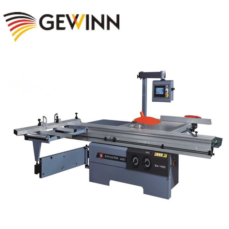 Straight cutting sliding table saw/board cutting panel saw SW-400C-1