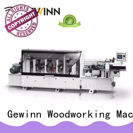 Gewinn banding automatic edge bander machine corner office cabinet