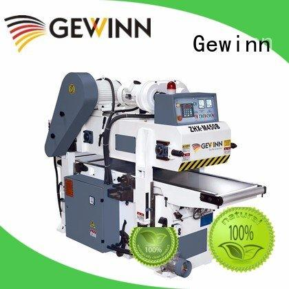 Gewinn surface automatic side 2 sided planer double