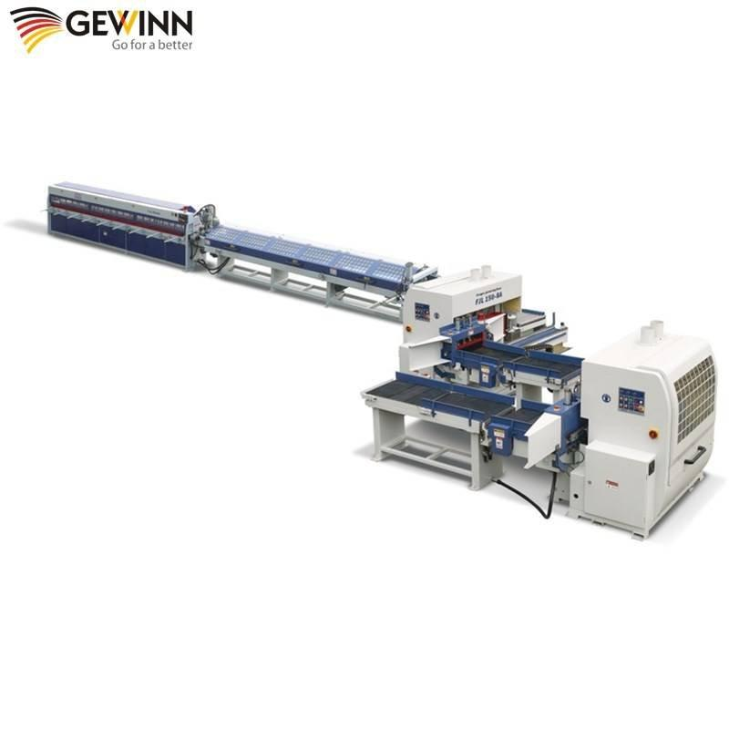 high quality semi -atuo Finger tenon production line