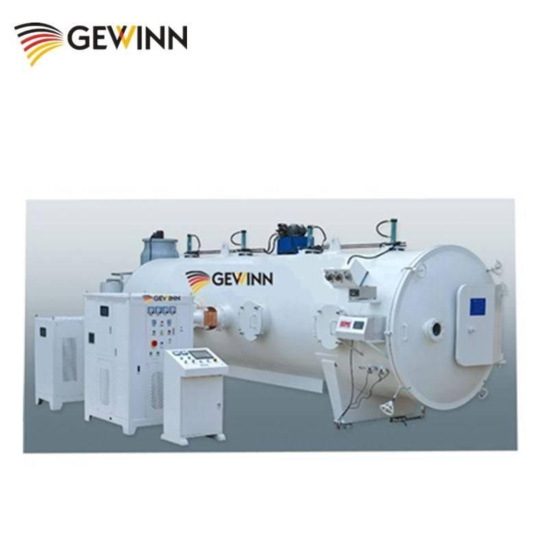 HF wood vacuum dryer machine with high frequency and worm kiln