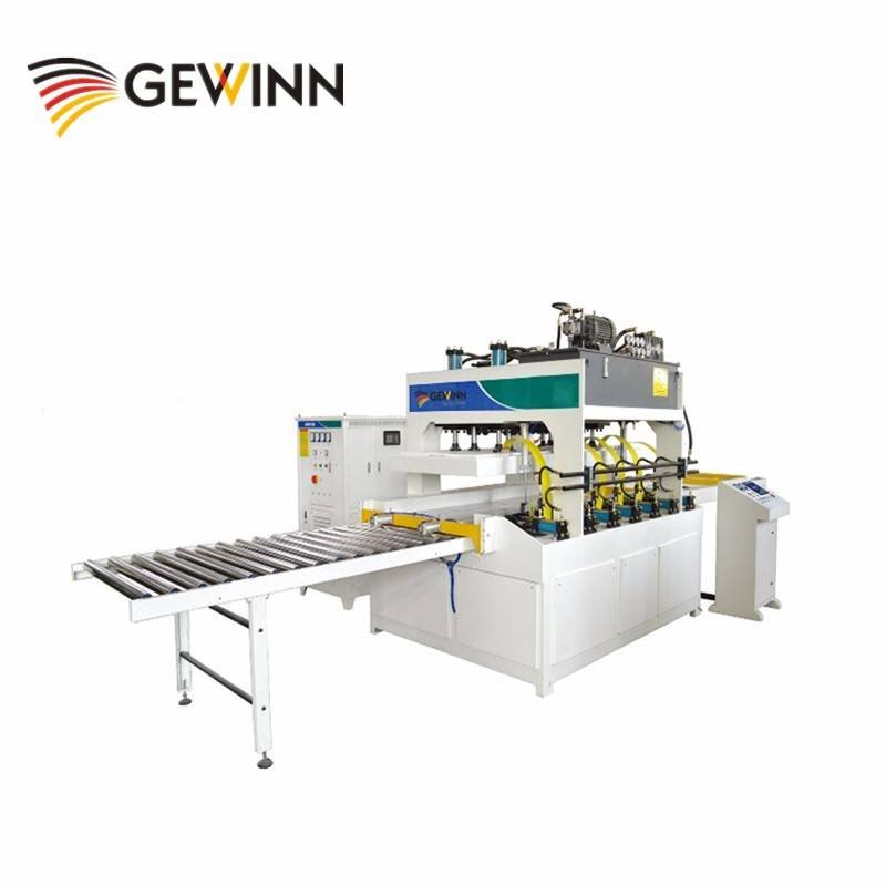 Gewinn High frequency clamp carrier / Wood Board Jointing Machine Finger joint line image29