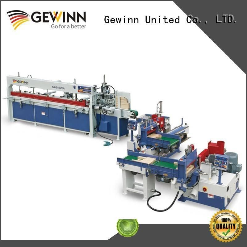 Gewinn Brand single head 3.5kw double woodworking cnc machine